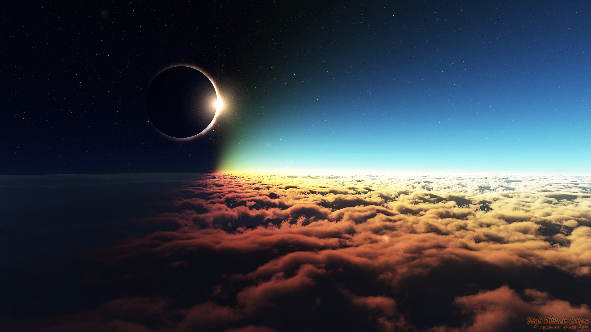 High Altitude Eclipse