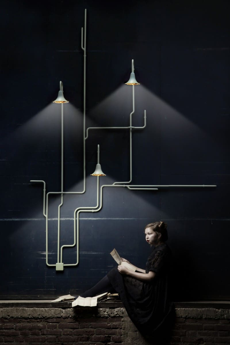 The Daily Lamp – Light Forest, from Ontwerpduo