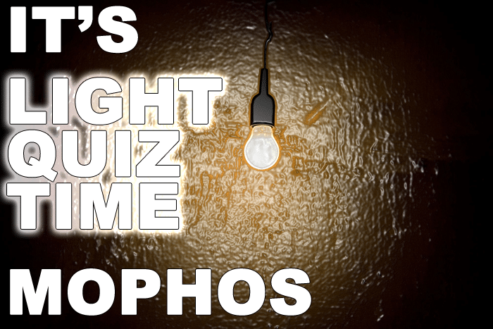 How Well Do YOU Know Light?  Take Our Quiz, Come Find OUT!  COME ON!