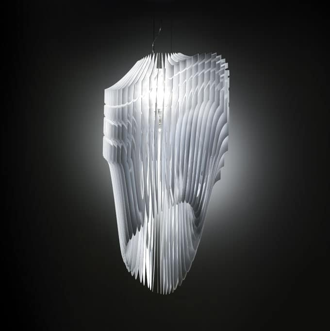 Avia (white) from Zaha Hadid for SLAMP