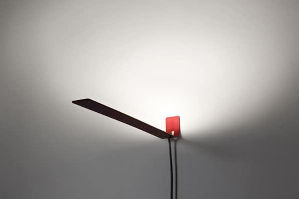 The Daily Lamp:  Terrence Seah's Cloudline Lamp – Sleek, Slim Uplight