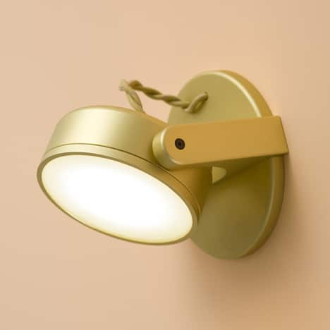 The Daily Lamp: Rich Brilliant Willing's Monocle Lamp, Which Keeps an Eye on Everything