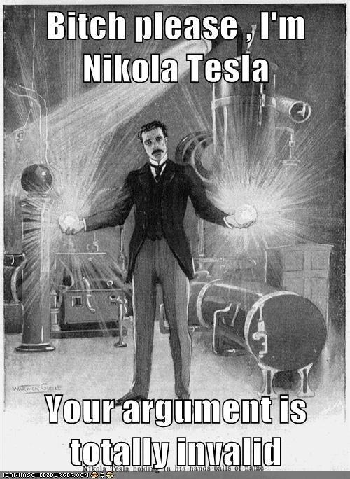 Nikola Tesla Dood — Sarah Donner and the Oatmeal