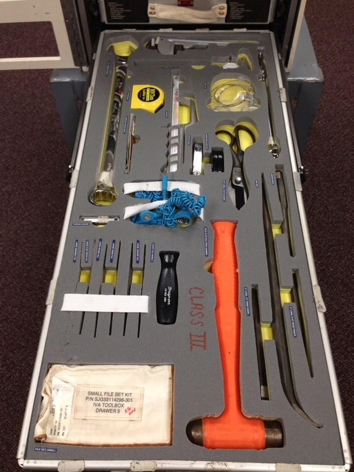 The International Space Station's Touring Roadcase Toolbox