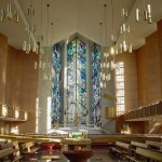 Less contrast -- From the Narthex to the Altar and Munderloh Windows