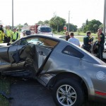 Driver's side destruction