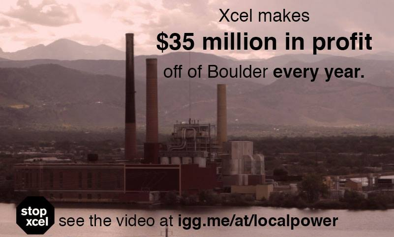 Can the Little People (ie, US) Beat Xcel Energy in Boulder?  These People Say YES
