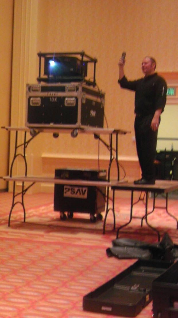 psav-table-projector-rig