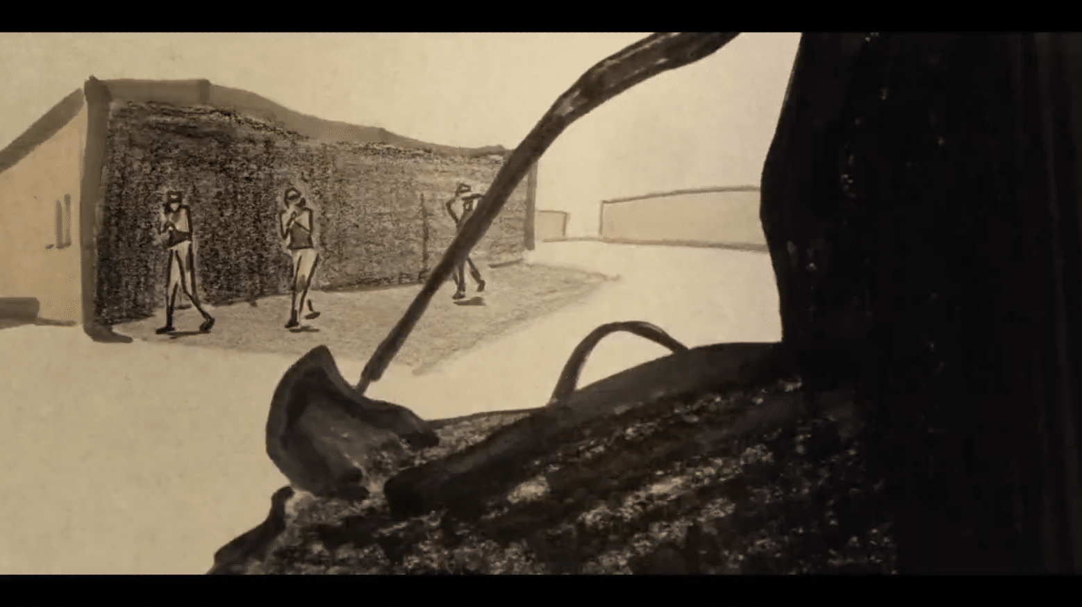 Confusion Through Sand – An Experimental Video on Recycled Paper