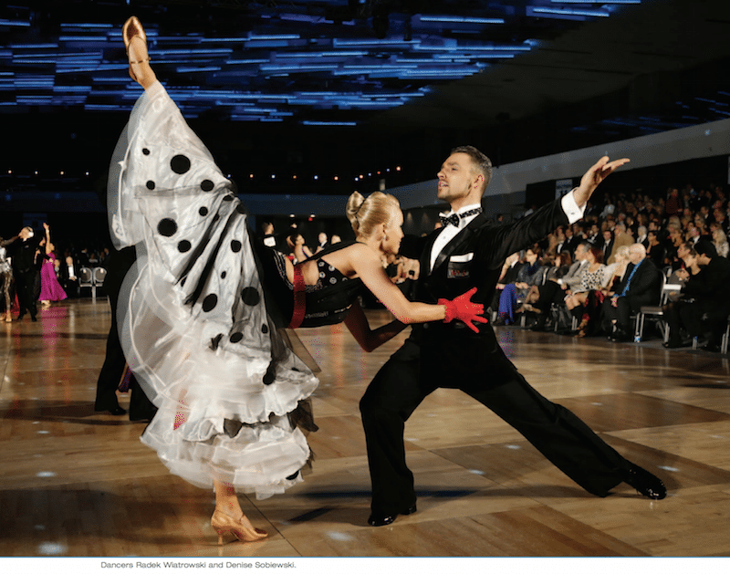 The Challenge of Lighting America's Ballroom Challenge