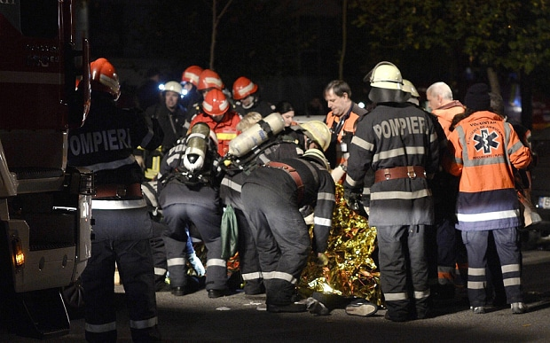MORE Stage Death – Bucharest Stage Fire, 27 Dead.