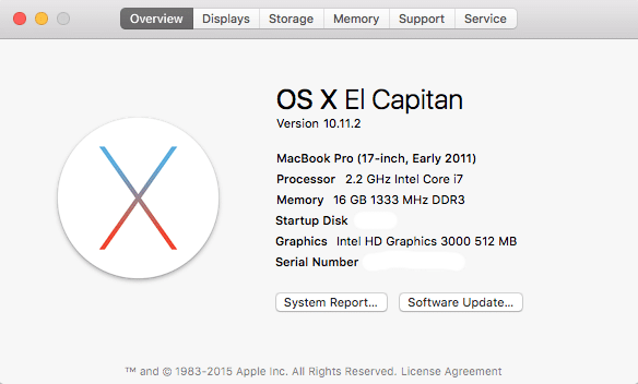 El Capitan Problems with iCloud?  Here's A Fix.