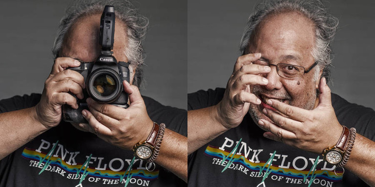 Portraits of Photographers With/Without Cameras