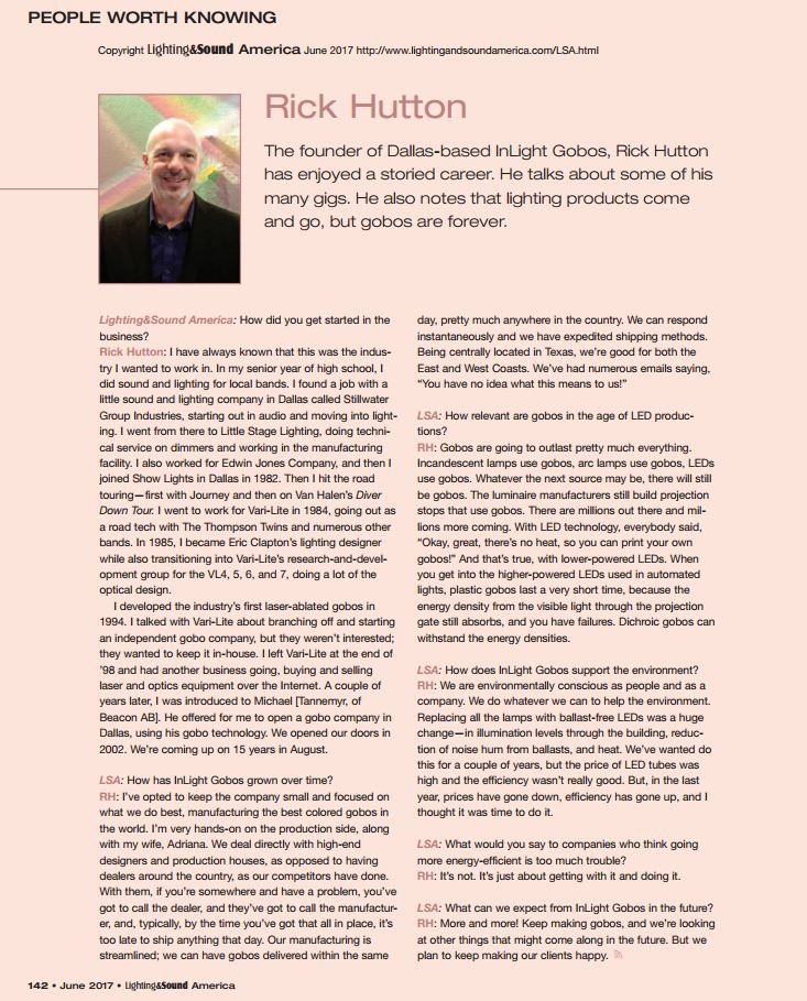 Do YOU Know Rick Hutton?  He's A PERSON WORTH KNOWING!