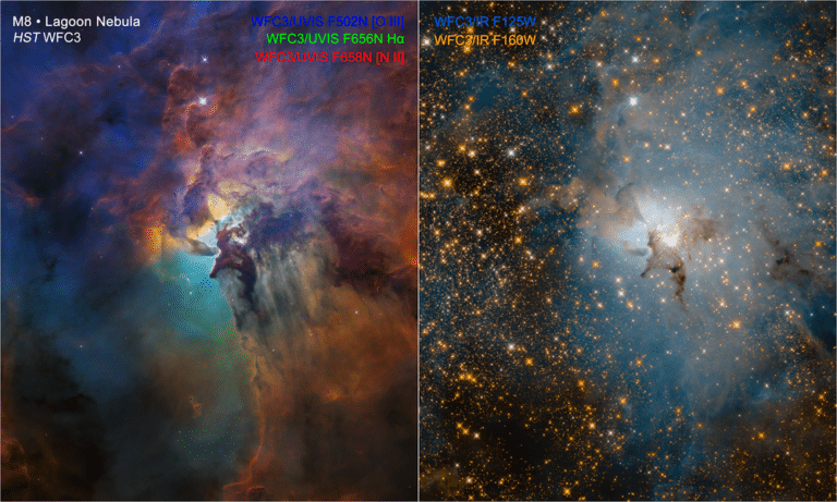 Retinal Orgasm – NASA's Releases of the Lagoon Nebula