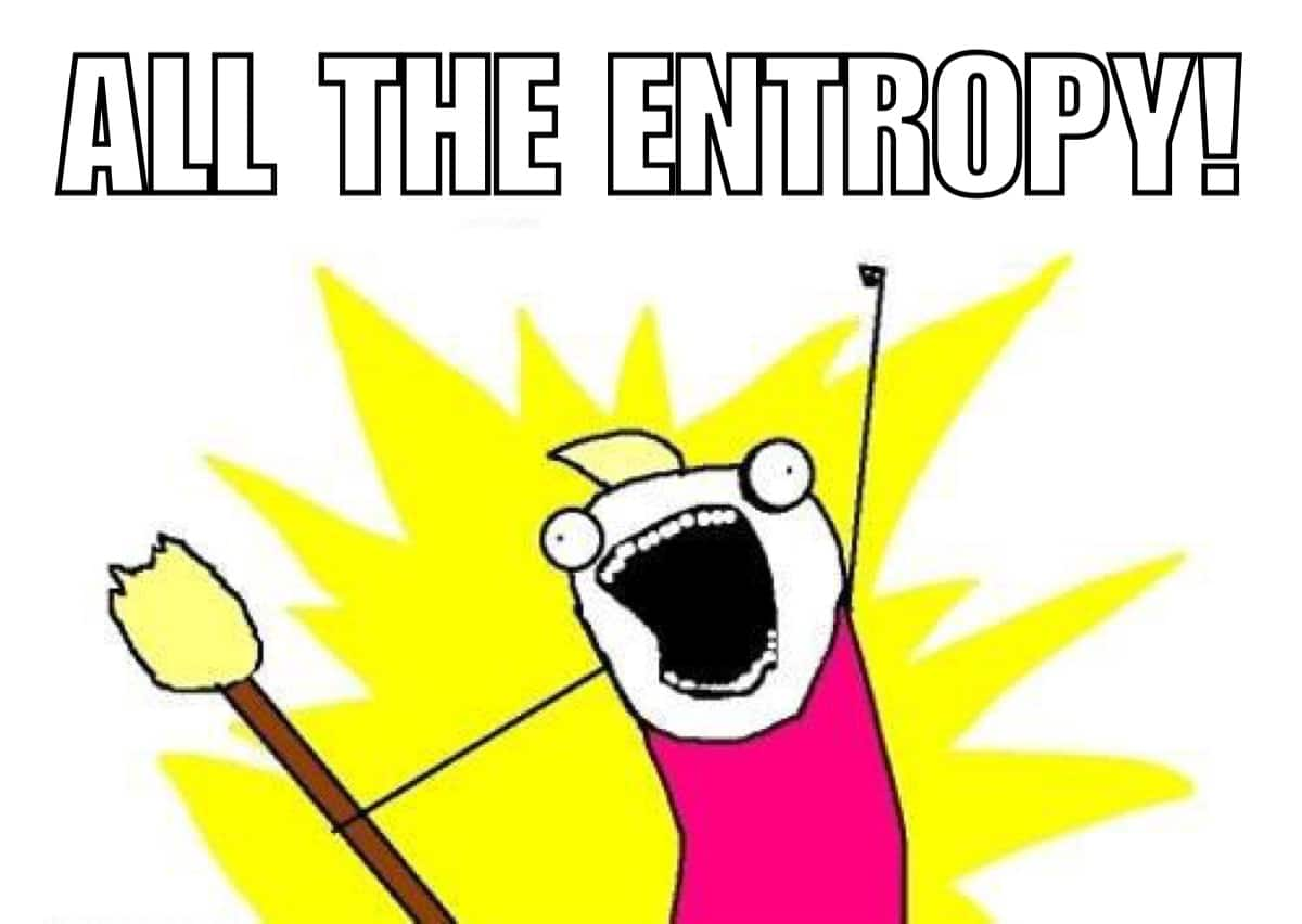 entropy, all of it